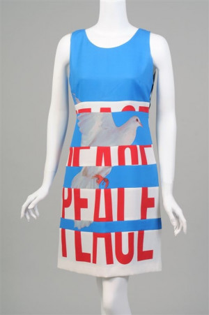 Franco Moschino Peace Dress