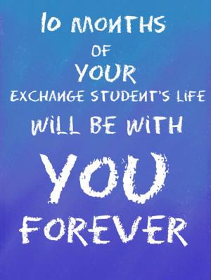 So true!!!Exchange student quote #quote #international # ...