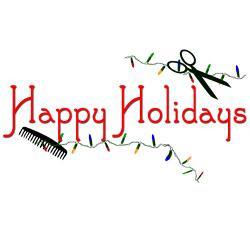 happy_hairstylist_holidays_greeting_card.jpg?height=250&width=250 ...
