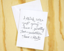 Secretly in Love - The Royal Tenenb aums Calligraphy Quote ...