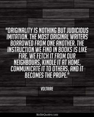 Voltaire Quotes | noblequotes.com/
