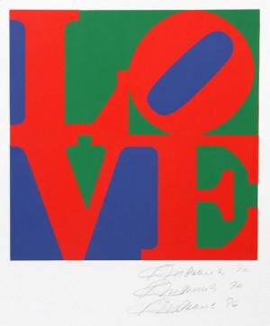 Robert Indiana The Book Love