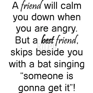 friend will calm you down riley company cling rubber stamps you will ...