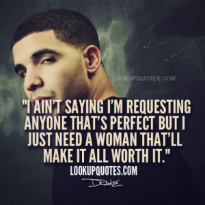 Quotes About Being A Good Woman Drake woman quotes