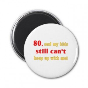 Funny 50th Birthday Over The Hill Gag Gifts: 80th Birthday Gag Gifts