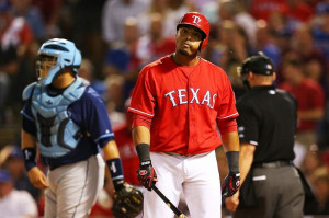Nelson Cruz, Rangers, OF, .276 avg, 27 HRs, 76 RBIs