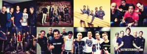 Simple Plan French-canadian Rock Band Facebook Cover Photo