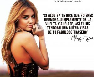 miley cyrus spanish quotes citas en espanol spanish citas q