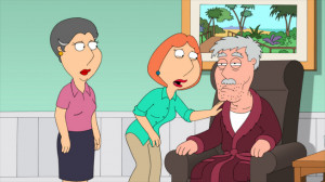 Grumpy Old Man After Lois' father falls asleep while driving, the ...