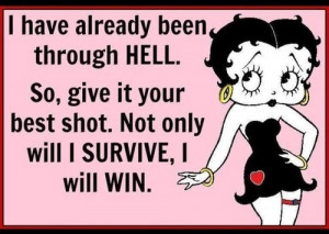 beentheredonethat betty boop bitch quote funny lol