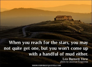 Inspirational quotes reach for the stars quotes