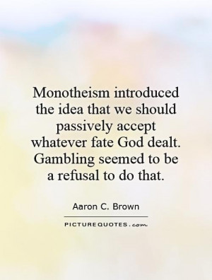 Quotes and Sayings About Gamble
