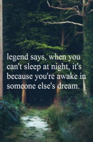 Cute quotes good sayings sleep dream