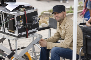 The Director Marc Forster on set
