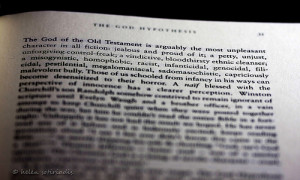 the god of the old testament is arguably the most unpleasant ...