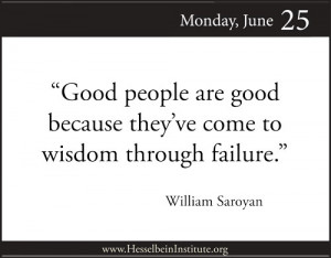 Wisdom Through Failure
