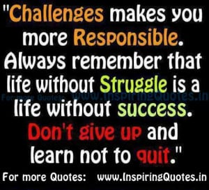 inspirational quotes on life challenges quotesgram