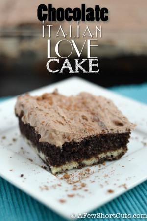This Italian Love Cake Recipe