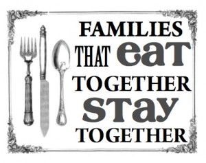 Families That Eat Together, Stay Together - Gift Set