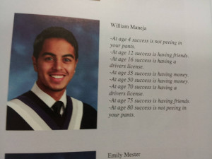 Talking about good yearbook grad quotes?