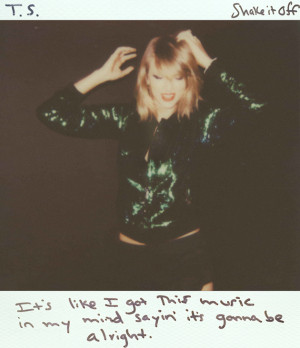 Taylor Swift debuted her new single 'Shake It Off' today, and this ...
