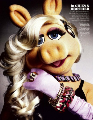The Muppets Miss Piggy - InStyle Magazine