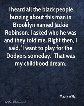 black people buzzing about this man in Brooklyn named Jackie Robinson ...