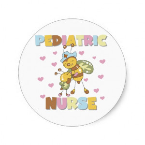 Pediatric Nurse Round Sticker