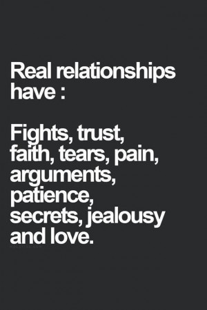 Quote - Real Relationships