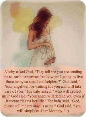 Beautiful poem/quote for pregnancy
