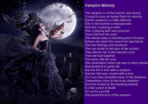 CLAIMED Soulmate Special - Sanguine Vampire Lady Quote