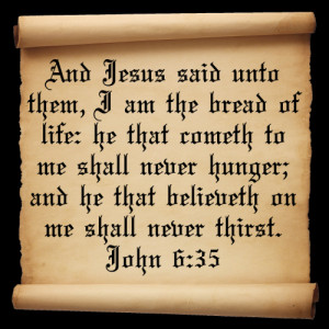 Bible quotes about bread quotes
