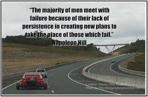 The majority of men meet with failure because of their lack of ...