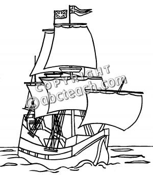 The Mayflower Pilgrims Wore