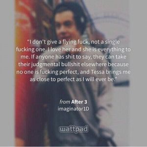 After Fanfiction by Anna Todd ( Read After, After2 After3 on wattpad ...