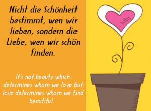 Popular German Sayings about Love
