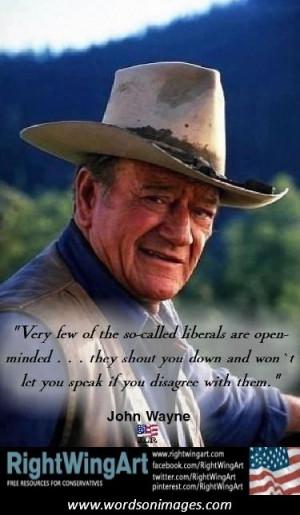 John wayne famous quotes