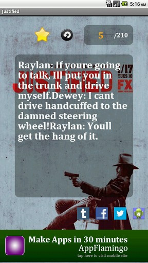 Tags: best quotes from tv series justified, justified quotes.