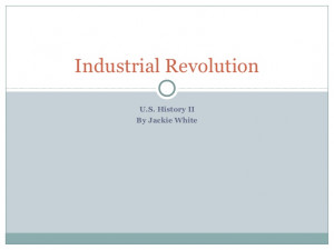 Working Conditions Industrial Revolution
