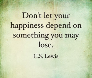 Lewis quotes I love —