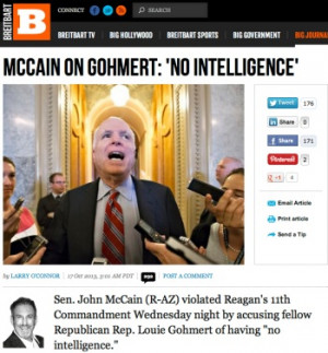 ... Larry O'Connor: How Dare John McCain Imply Louie Gohmert Is Dumb