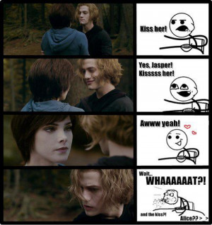 Twilight Series Alice&Jasper Funny