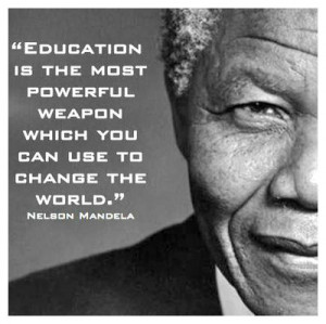 Famous Education Quotes, By Nelson Mandela Images And Pictures