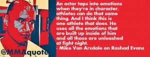 Mike Van Arsdale on Athletes and Actors