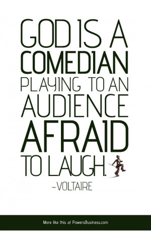 Quoted by George Burns in the movie comedy OH GOD! (1977). He ...