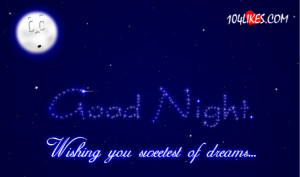 ... below the best good night is on facebook family and cute good night