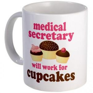 Funny Medical Secretary Mug