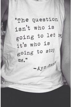 Ayn Rand Tank More