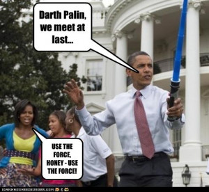 Palin and Obama Humor