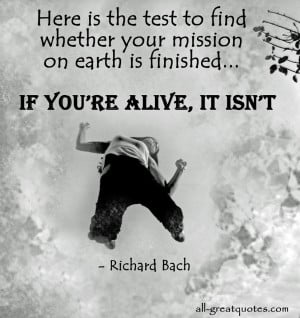 Richard Bach Quotes Death